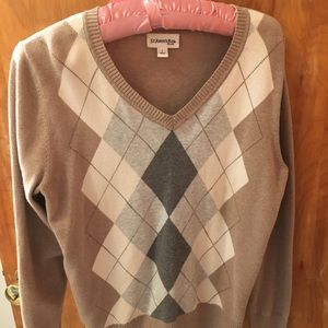 Argyle pattern Sweater by St Johns Bay